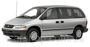 Стекло боковое заднее левое Chrysler Voyager 96-98 DoraGlass