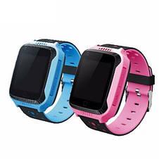 Детские наручные смарт часы Smart Baby Watch A15 смарт картон часы телефон GPS трекер+ монопод, фото 2