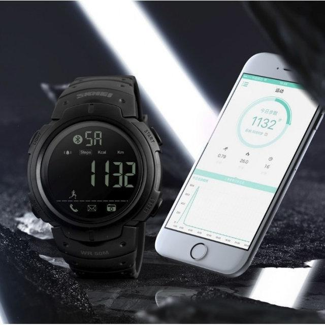 Cпортивные мужские часы Skmei 1301 черные
