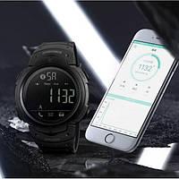 Skmei 1301 черные спортивные мужские часы