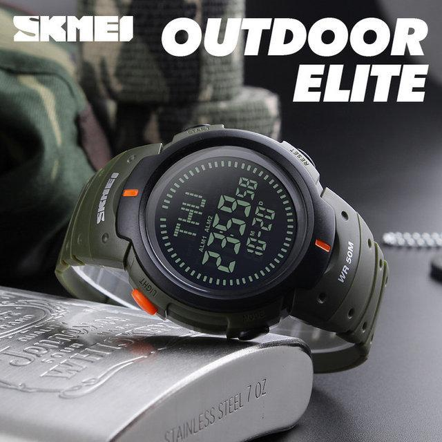 Cпортивные мужские часы  Skmei 1231 Compass Зеленые