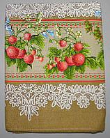 Льняная скатерть 220x150 размер (N-211)