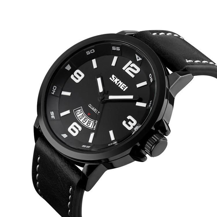 Skmei 9115 Profi черные классические мужские часы