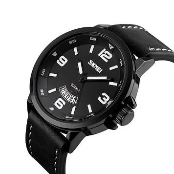 Классические мужские часы Skmei 9115 Profi черные