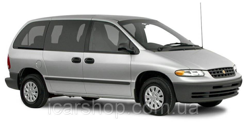 Стекло боковое заднее правое Chrysler Voyager 96-98 DoraGlass