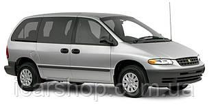 Стекло боковое Среднее Правое Chrysler Voyager 96-98 DoraGlass