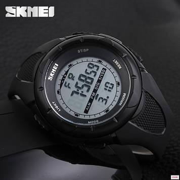 Cпортивные мужские часы Skmei 1025 Dive Black