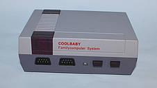 Игровая приставка CoolBaby Video Games Dendy, Игровая ретро приставка Денди NES 8bit  100в1 Original size     , фото 2