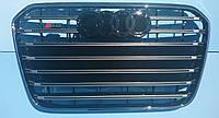 Решетка радиатора Audi A6 12-15 стиль S6