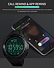 Skmei 1326 черные спортивные мужские часы Smart, фото 7