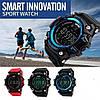 Skmei 1227 синие спортивные мужские часы с счетчиком калорий Smart, фото 7