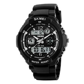 Детские спортивные часы Skmei 0931 S-SHOCK черные