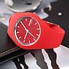 Skmei 9068 RUBBER красные женские часы, фото 2
