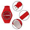 Skmei 9068 RUBBER красные женские часы, фото 6