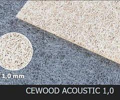Акустическая панель CEWOOD, шир.волокна 1 мм, натур. цвет, 1200мм. * 600мм. * 15мм.