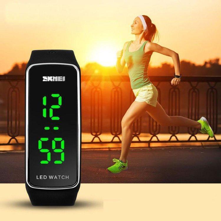 Skmei 1119 electro спортивные женские часы LED