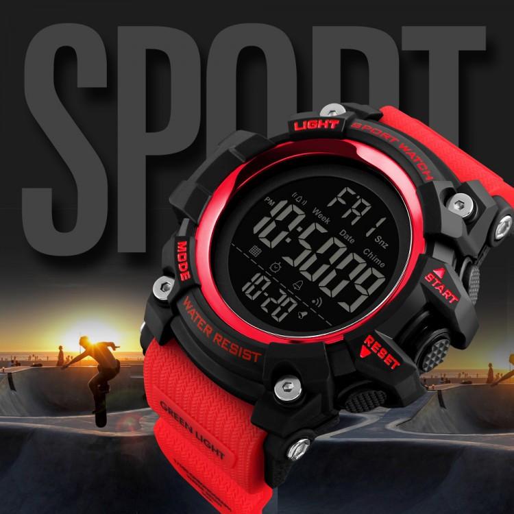Cпортивные мужские часы SKMEI 1384 Red