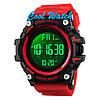 Cпортивные мужские часы SKMEI 1384 Red, фото 3
