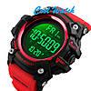 Cпортивные мужские часы SKMEI 1384 Red, фото 4