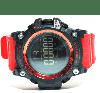 SKMEI 1384 красные спортивные мужские большие часы, фото 6