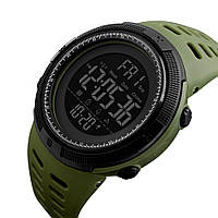 Skmei 1251 Amigo зеленые спортивные мужские часы