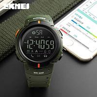 Спортивные мужские часы Skmei Army green 1301