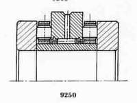 Подшипник  роликовый радиальный с длинными цилиндрическими или игольчатыми роликами 4-504704