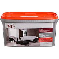 Клей для обоев и стеклохолста Wellton 2.5кг