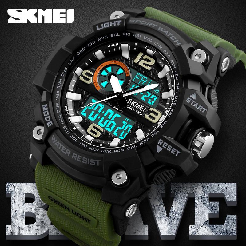 Спортивные часы Skmei Disel 1283  Army green