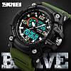 Спортивные часы Skmei Disel 1283  Зеленые, фото 2