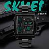 Skmei 1274 Techno черные мужские часы, фото 2