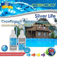СВОД Silver Life серебряный бактерицидный комплекс для бассейнов  2*500 мл.
