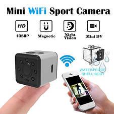 Мини камера SQ13 Wi-Fi  Original size mini action camera + монопод, фото 3