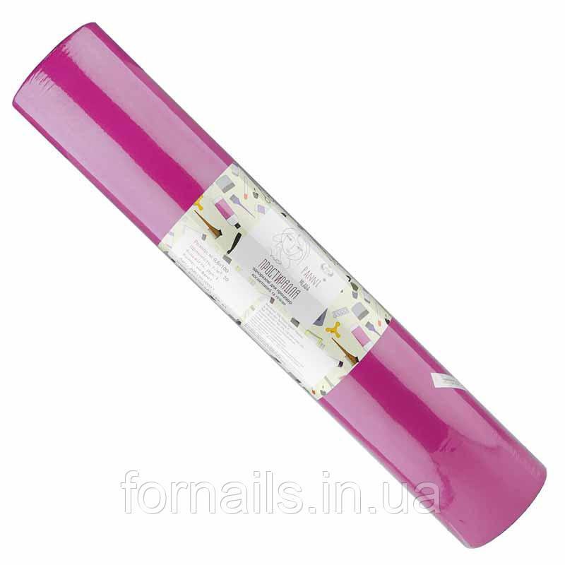 Простыни, 0.6*100м, Panni Mlada, цвет малиновый
