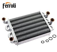 Теплообменник Ferroli Domiproject C24/F24, Fereasy C24/F24 (39819540/39820060) битермический