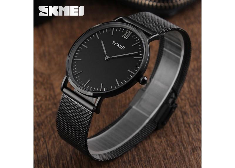 Skmei 1182 Cruizei черные оригинальные тонкие часы