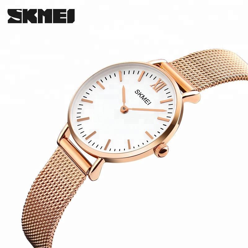 Skmei 1185 золотые Cruizei оригинальные женские часы