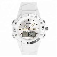 Skmei 0821 Easy II белые спортивные женские часы