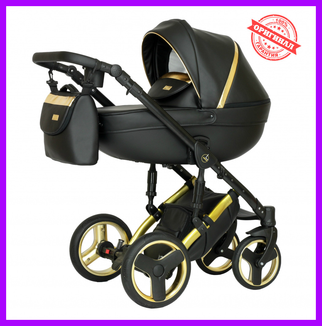 Коляска 2 в 1 Verdi Mirage Eco Premium Gold II