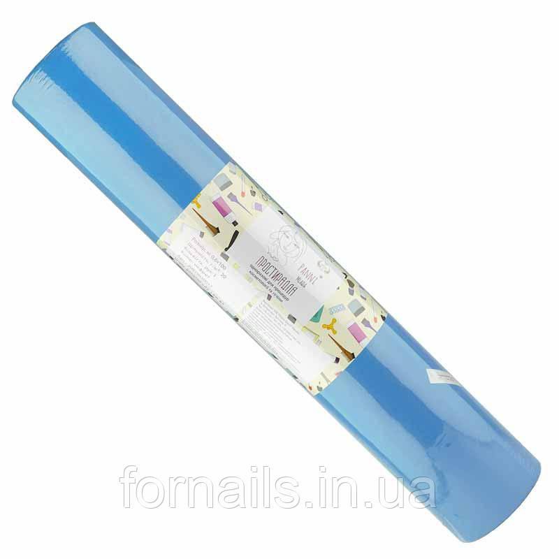 Простыни, 0.8*100м, Panni Mlada, цвет голубой