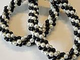 """Ожерелье """"Белое и черное"""", фото 2"""