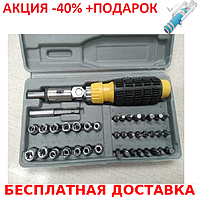 Набор инструмента AIWA PT/DR-18 41-Piece bit and Socket Set + монопод