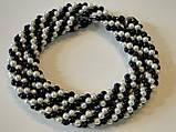 """Ожерелье """"Белое и черное"""", фото 3"""