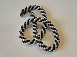 """Ожерелье """"Белое и черное"""", фото 5"""