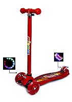 Самокат трехколесный Maxi Scooter Disney. Тачки Молния Мак Квин, фото 1