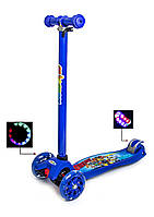 Самокат трехколесный Maxi Scooter Disney. Щенячий патруль. Детские самокаты, фото 1