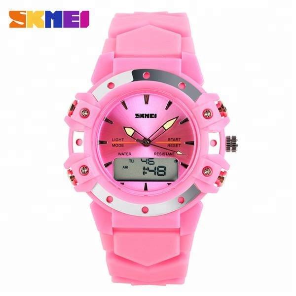Skmei Easy II 0821 розовые спортивные женские часы