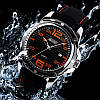 Оригинальный оранжевые мужские часы Skmei 0992 Robby, фото 4