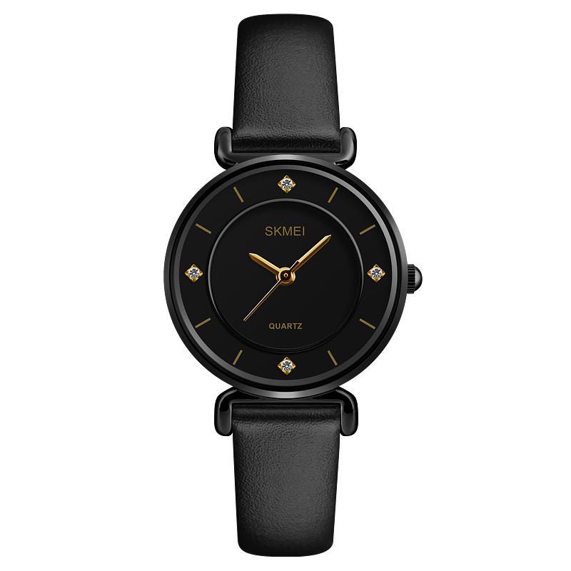 Skmei 1330 Batterfly черные женские классические часы