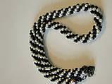 """Ожерелье """"Белое и черное"""", фото 8"""